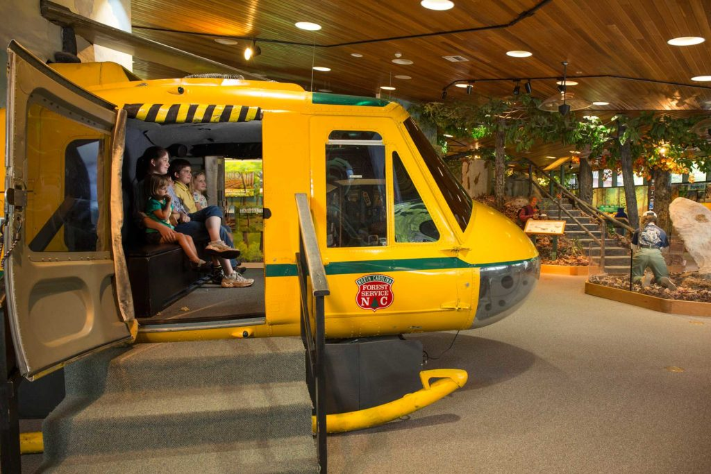 Cradle of Forestry - Things to do - Helicopter